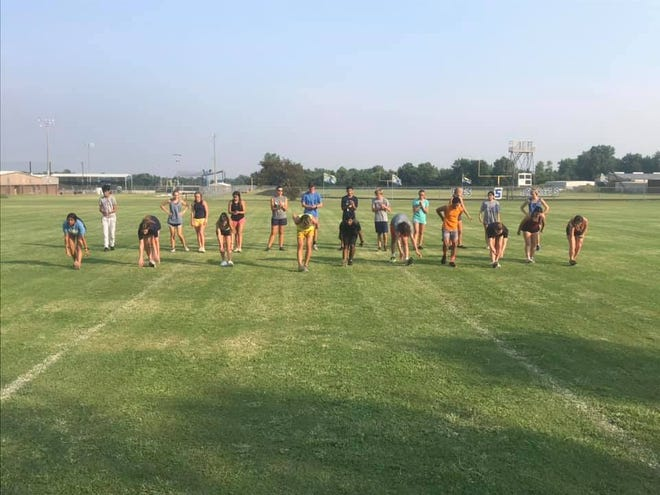 The Stephenville High School cross country team got back into the swing of things this past week with its first practices of the season. Cross country opens the season on Aug. 12 with the Birdville Early Invitational.