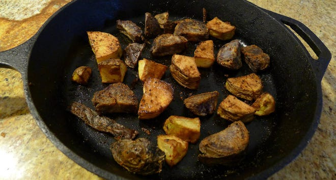 Perfectly roasted root vegetables