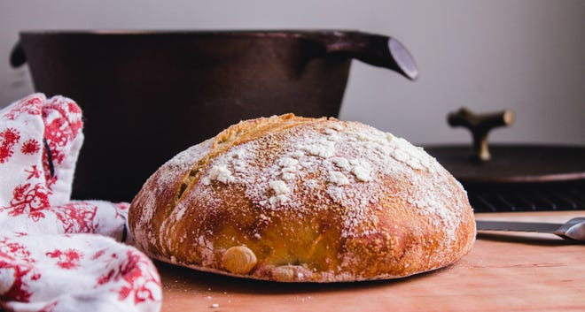 No-Knead bread for two
