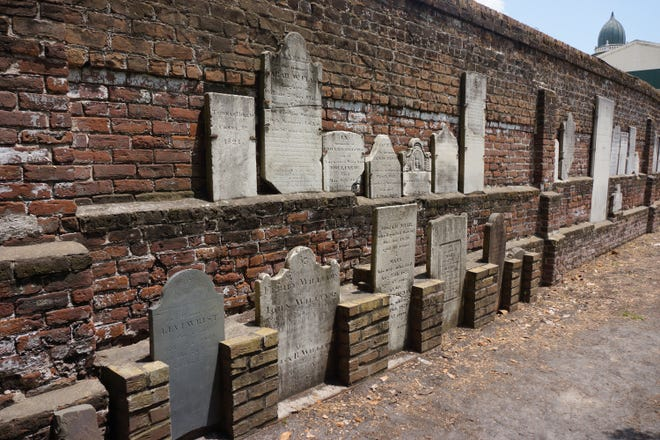 Colonial Park Cemetery in Savannah is the final resting place for many victims of the Yellow Fever epidemic that devastated the region in 1820.