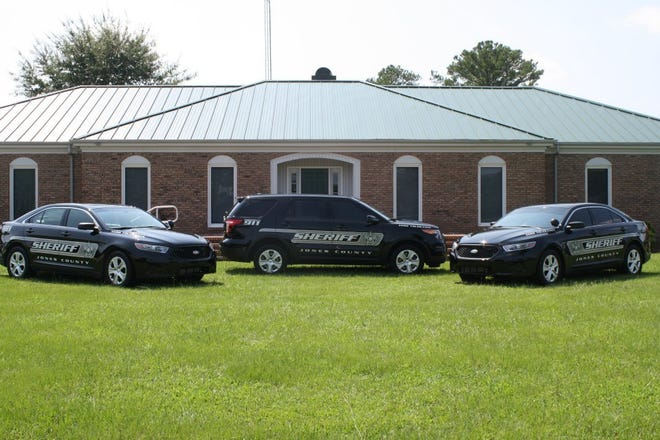 Jones County Sheriff Department, where Sheriff Danny Heath spent his career as Sheriff.