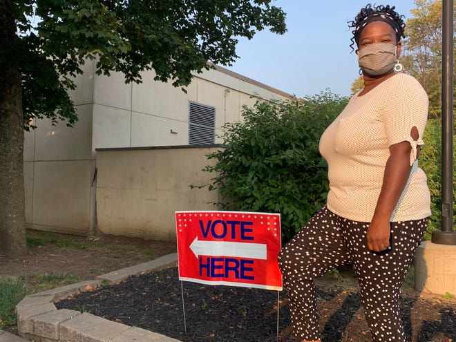 Some residents, like LaTonia Wright, had two primary races to vote in. Both the mayor and District 3 city council seat needed primary elections.