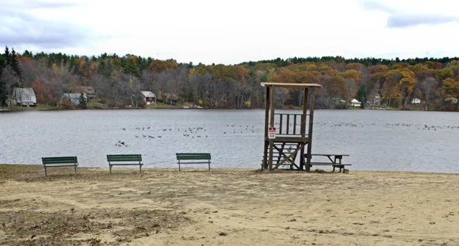 Luther Hill Park in Spencer is closed until further notice due to an algae bloom.