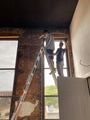 he studio is expanding into the second floor of the historic downtown building it has occupied for many years.