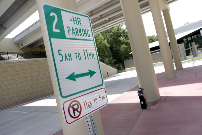 No parking is allowed between 11 p.m. and 5 a.m. at Jones Park in Appleton.
