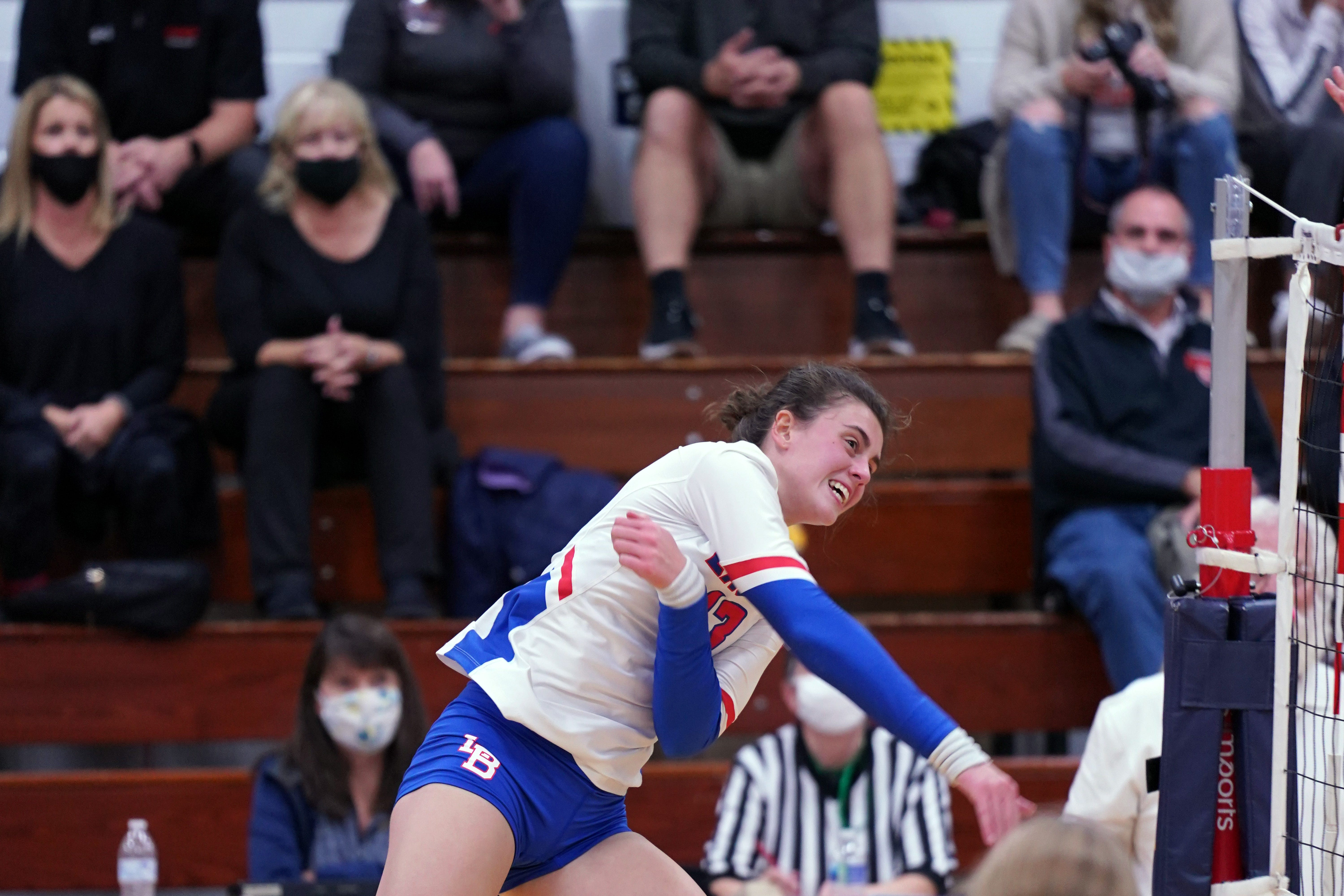 Isabella Granger of Liberty Benton is one of the best volleyball players in the state.