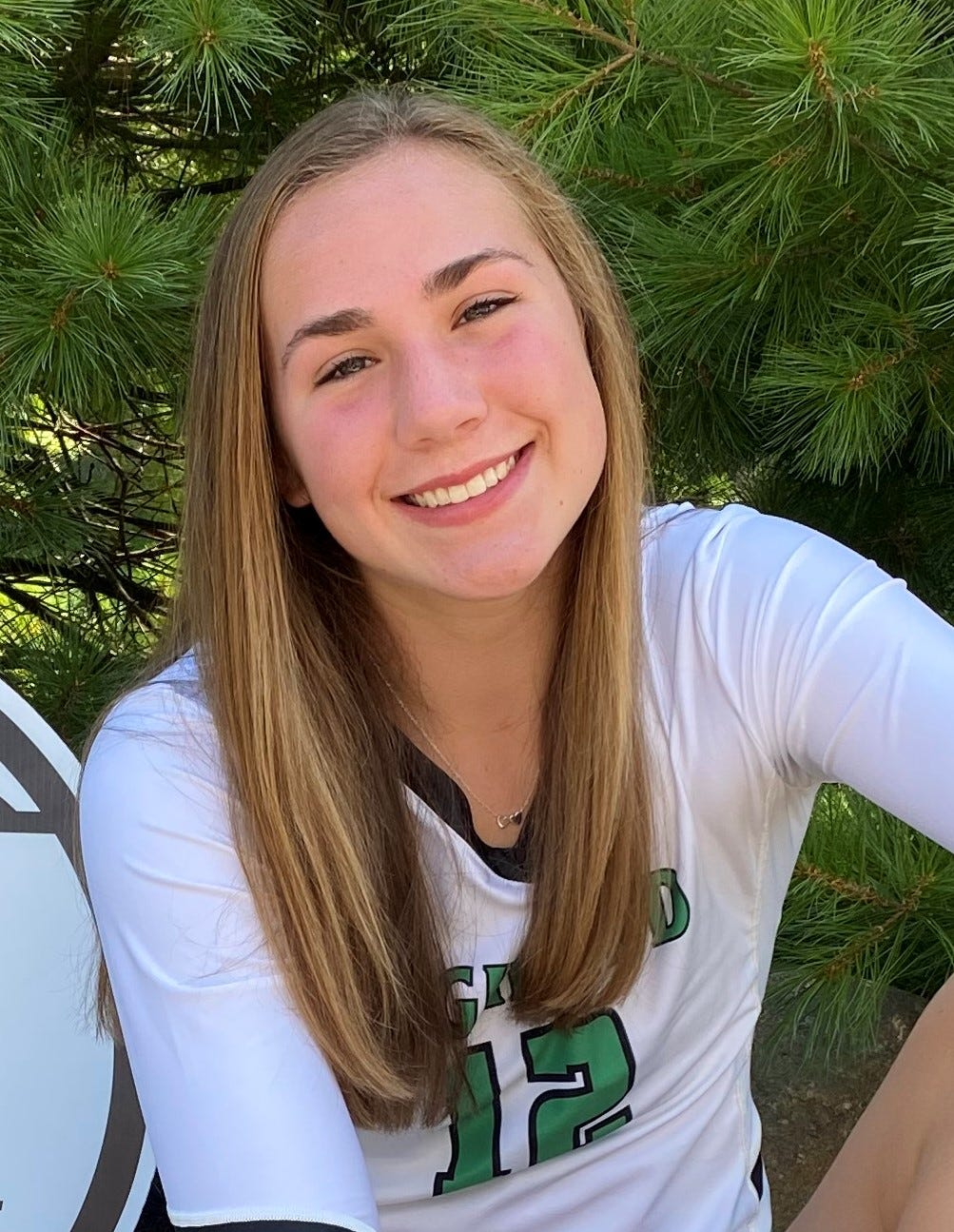 Alayna Tessena of Highland is one of the best volleyball players in the state of Ohio.