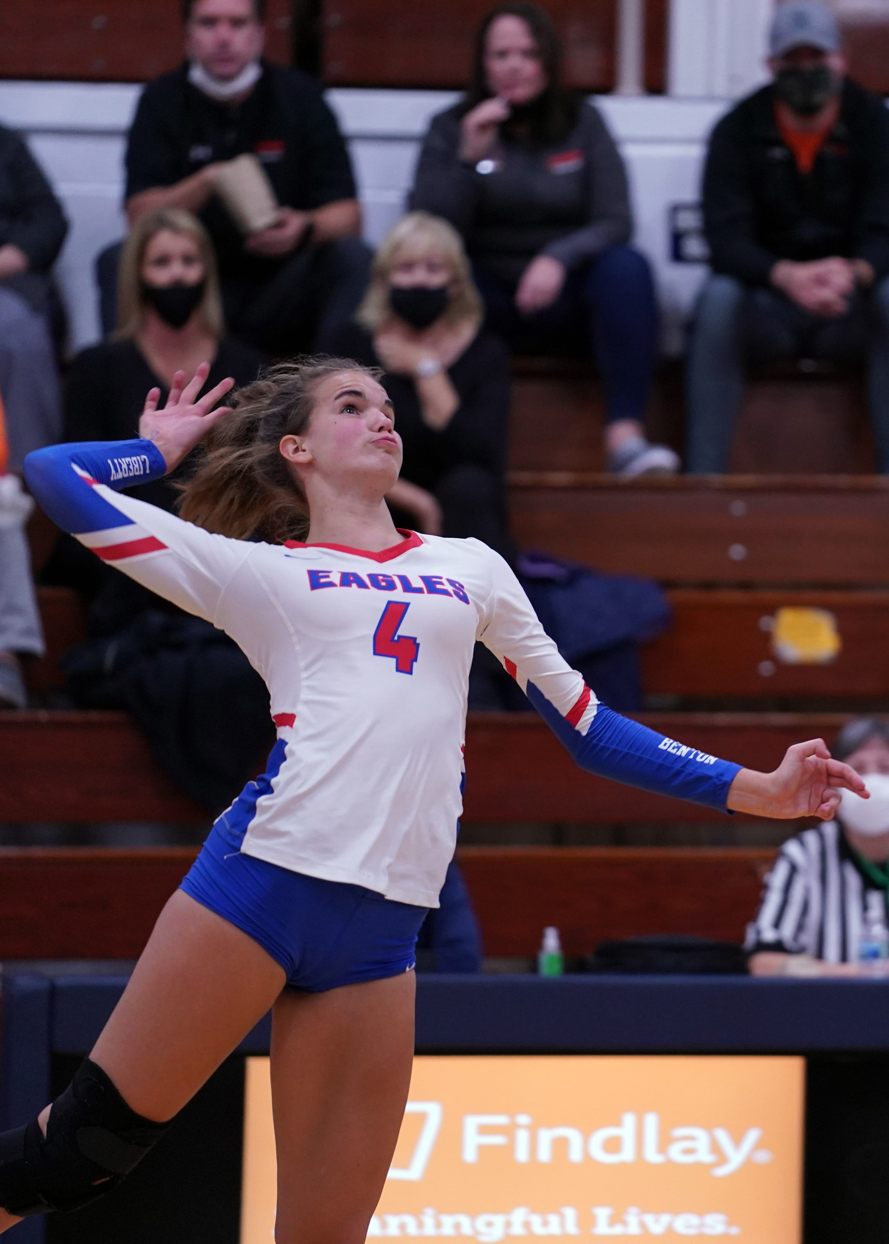 Karis Willow of Liberty Benton is one of the best volleyball players in the state of Ohio.