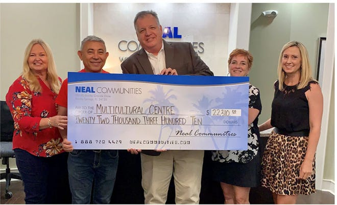 Neal Communities raised nearly $22,310 in donations from employees, trade partners, homeowners, real estate agents, family and friends.