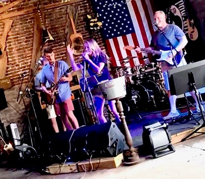 The Ashley Morgan Band performs Thursday at the Junykard showcase at the Montgomery Performing Arts Centre.