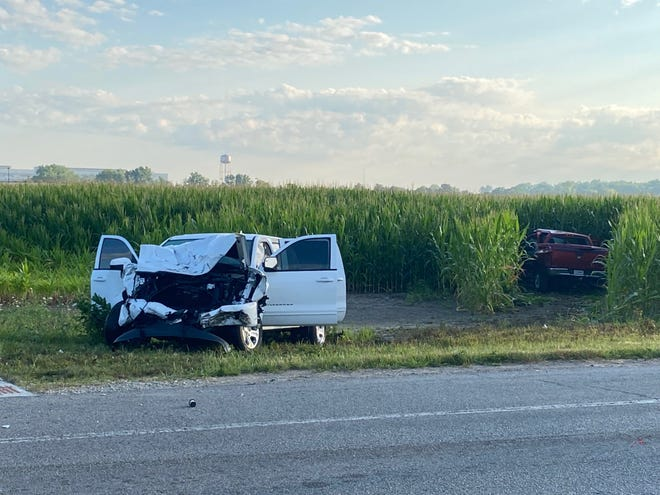 A Springport man was killed early Tuesday in a two-vehicle crash at Cowan Road and Old Ind. 67 on Muncie's south side. The driver of the other vehicle was not at the scene when emergency personnel arrived.