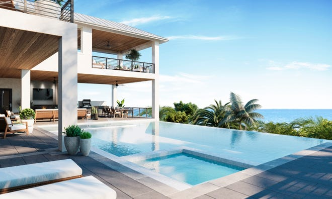 Seagate Development Group's Bal Harbour model at Hill Tide Estates is nearing completion.