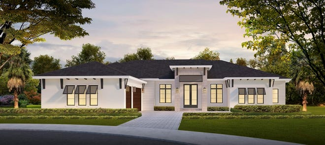 Imperial Homes' spectacular new home in Bonita Bay is slated to be completed in late Spring 2022.