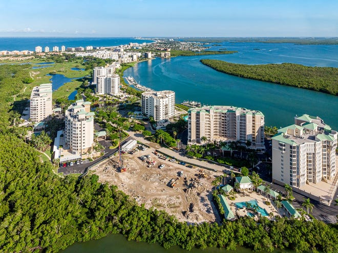 London Bay's Grandview at Bay Beach luxury high-rise is now under construction.