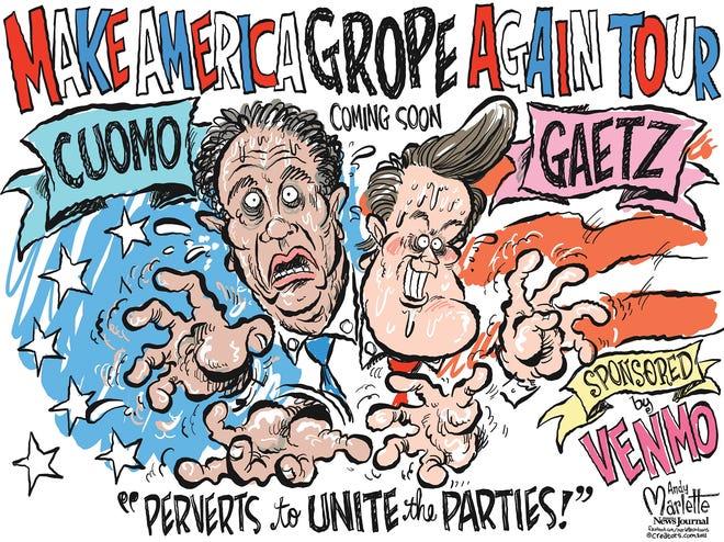 Marlette cartoon: Bipartisanship at last!!!