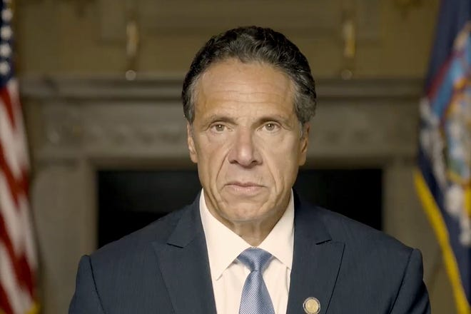 New York Gov. Andrew Cuomo releases a video  Aug. 3 to defend himself against accusations of sexual harassment.