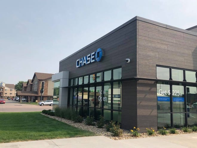 Chase Bank is at 4135 W. 41st St. in southwestern Sioux Falls.