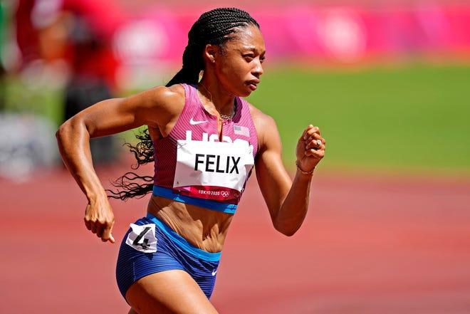L'une des coureuses olympiques américaines les plus décorées, Allyson Felix s'est qualifiée mercredi pour les demi-finales du 400 mètres féminin.
