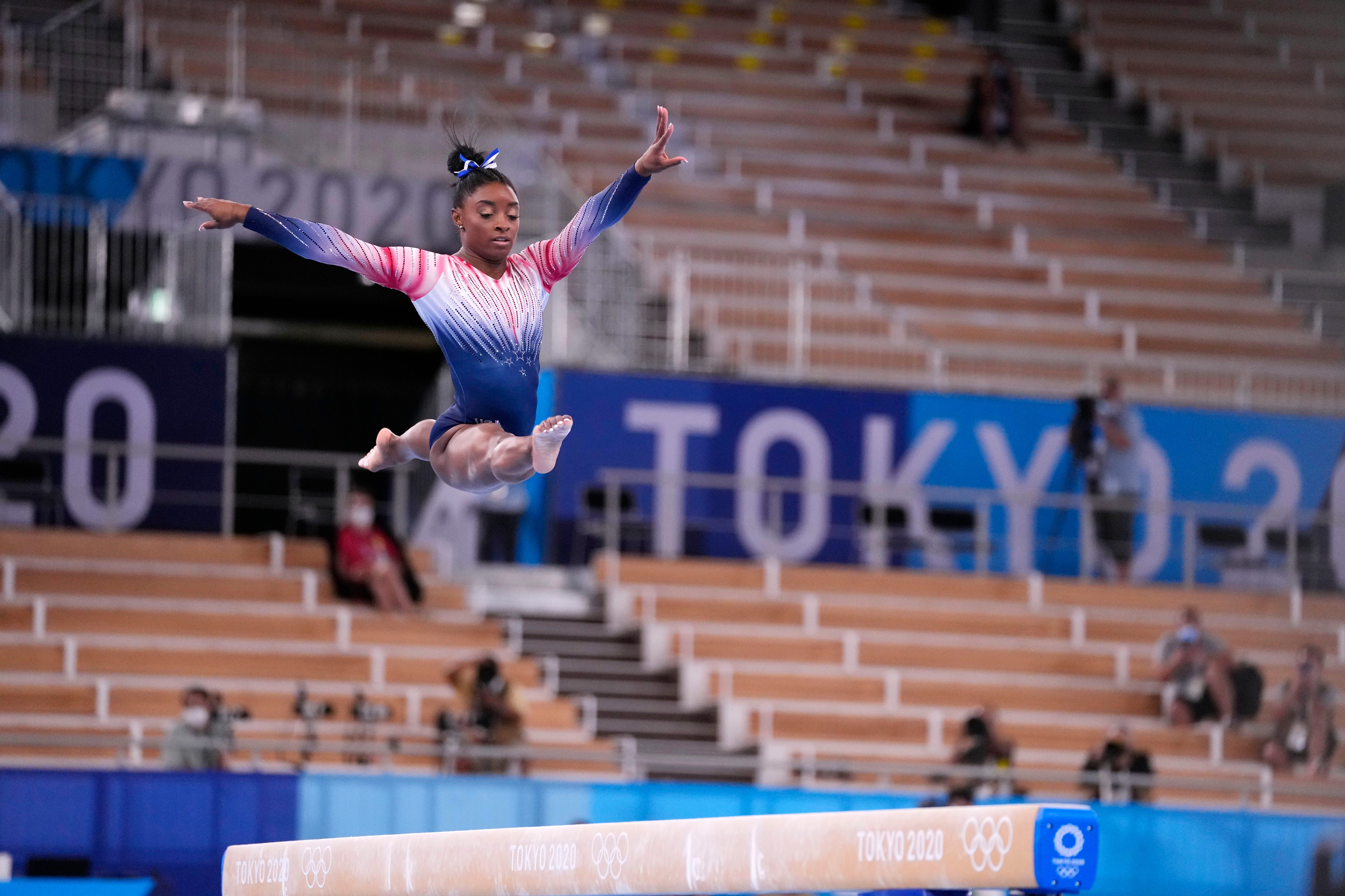 Simone Biles reveals that her aunt died during Tokyo Olympics