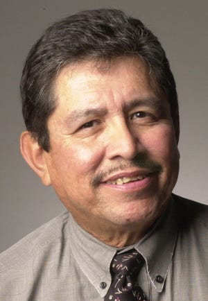 Austin American-Statesman editorial page editor Arnold Garcia Jr. is seen in this 2004 photo.