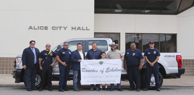 Ranches of Echelon donated a truck to the Alice Fire Department.