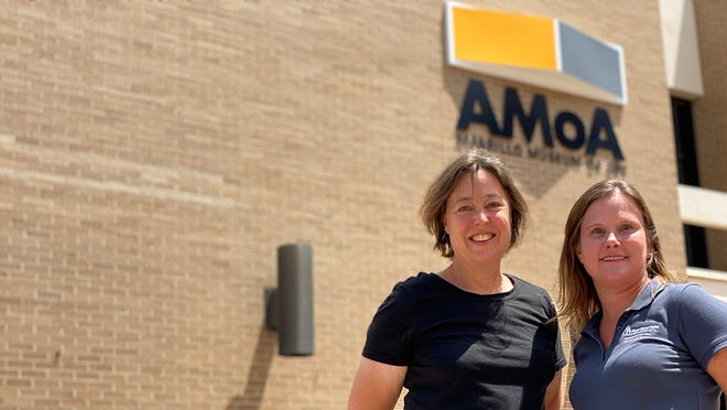 Research by Dr. Amy Von Lintel, WT's Doris Alexander Endowed Distinguished Professor of Fine Arts and director of gender studies, and Dr. Bonnie Roos, professor of English and department head for English, Philosophy and Modern Languages, inspired a new exhibition at Amarillo Museum of Art.