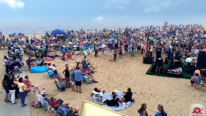 The Moonlighters play Craigville Beach next Saturday night, Aug. 14 for Old Home Week in Centerville.