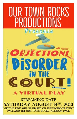 Objection! Disorder in the Court! will air on Facebook Live Aug. 14.
