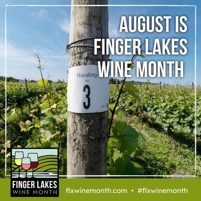 August is Finger Lakes Wine Month.
