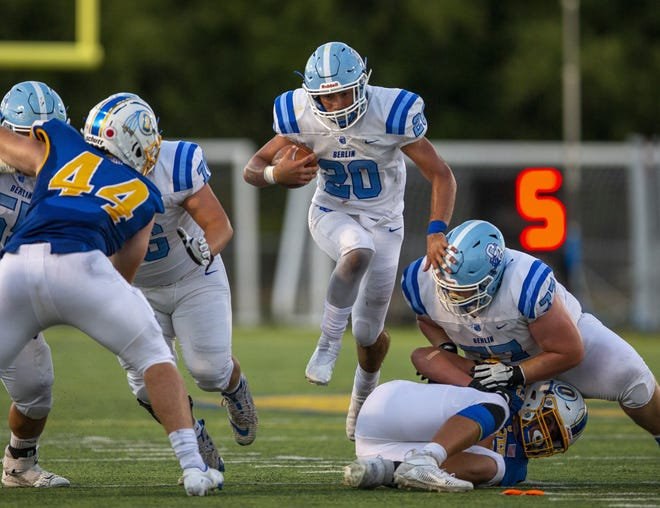 Senior Nick Tiberio returns at running back after rushing for 700 yards and six touchdowns. Tiberio was special mention all-district, second-team all-league.