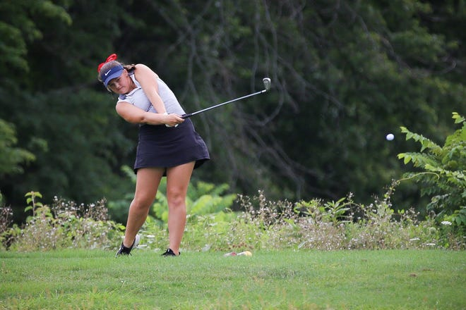Junior Rachael Jones is one of the key returnees for Grove City, which has high expectations despite the loss of standout Lizzie Saur to graduation. Jones recorded her first career hole-in-one Aug. 5at Eagle Sticks.