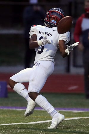 Senior Richard Kenny is a top returnee for Hartley at wide receiver and defensive back.