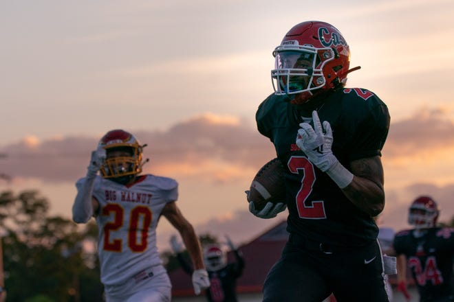 Westerville South's Kaden Saunders is among the top central Ohio players to watch this season. The senior wide receiver has committed to Penn State.