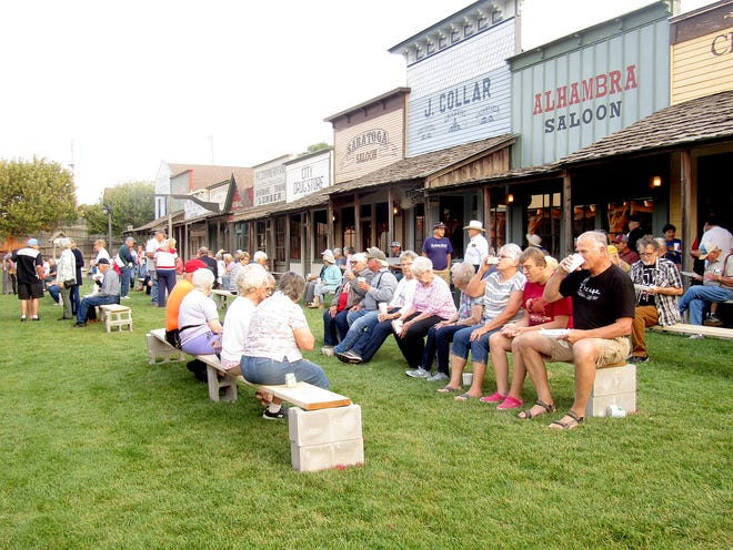 The Fidelity State Bank Chuckwagon Breakfast was held at Boot Hill Museum Wednesday, with 755 attendees attending the event according to Fidelity State Bank. The breakfast event has been a staple during the Dodge City Days Festival, coming into its 37th year.