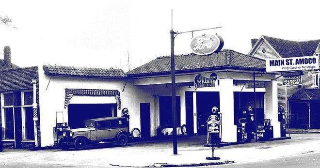 Main Street Amoco Service Station at 578 Main St. in Gardner.