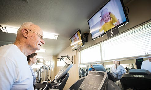 Bluestem operates two workout facilities in retirement centers that are usually open to the public — one in Hesston at Schowalter Villa and the other in North Newton at Kidron Bethel Village.