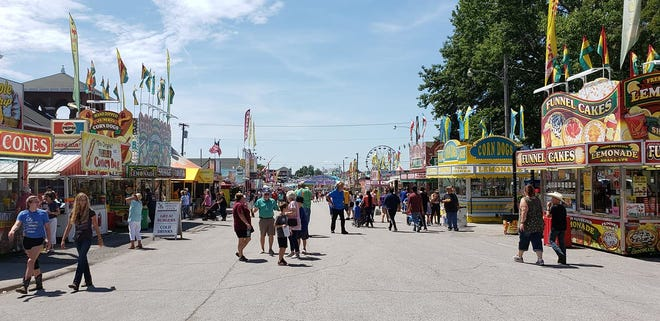 Regular gate admission into the fair is $12 for adults, $8 for seniors 60+, $3 for youth ages 6-12, and free for kids 5 and under.