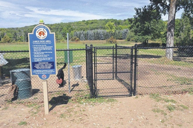 Boyne City's Ridge Run Dog Park is pictured shortly after its 2014 opening. More amenities have since been added at the site, including an Agility Park which will be the focus of a launch celebration on Sunday, Aug. 8