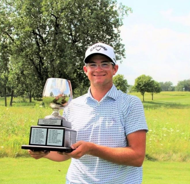 Cheboygan's PJ Maybank III captured his second consecutive GAM Michigan Junior State Amateur championship golf title at TPC Dearborn on Thursday. Maybank defeated Lake Orion's Justin Sui to claim the Overall Division crown in the 43rd edition of the event.