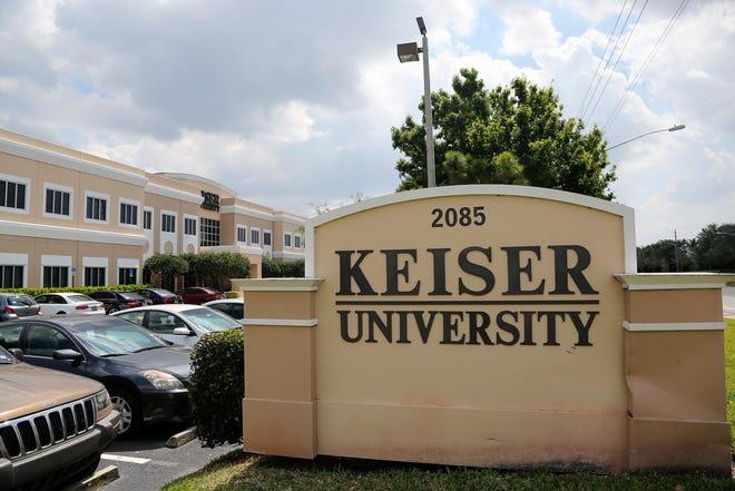 Keiser University in West Palm Beach Wednesday, March 18, 2015. (Bruce R. Bennett / The Palm Beach Post)