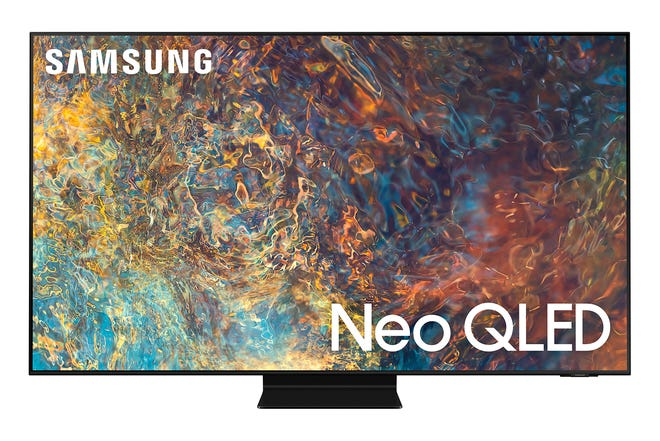The Samsung QN90A television has an anti-reflective coating that makes it extremely easy to place even in rooms with a lot of ambient light. (samsung.com/TNS)