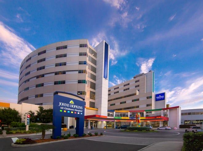 Johns Hopkins All Children's Hospital in St. Petersburg. [Photo courtesy of All Children's /Allyn DiVito]