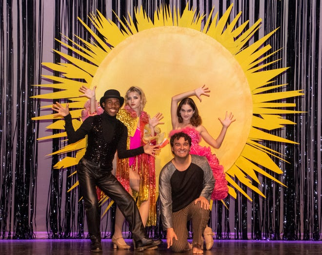 """Cast members from the Manatee Performing Arts Center production of """"Pippin."""""""