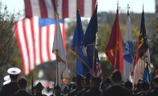 The third annual Southeast North Carolina Veterans Day Parade took place in downtown Wilmington on Saturday, Nov. 9, 2019.