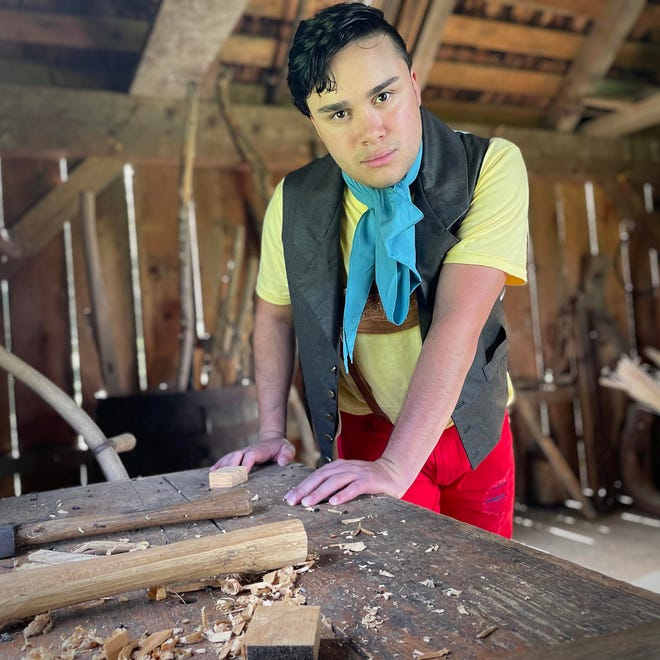 """Pinocchio, played by Alexander Demetrius, is a former child star coming to terms with his life as a """"real boy"""" in """"Fairy Tale Farm."""""""