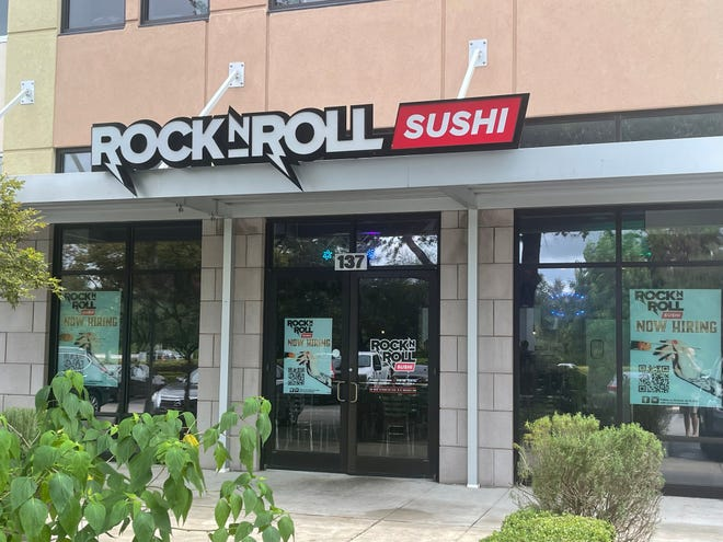 Rock N Roll Sushi recently opened its first North Central Florida location in Tioga Town Center, west of Gainesville.