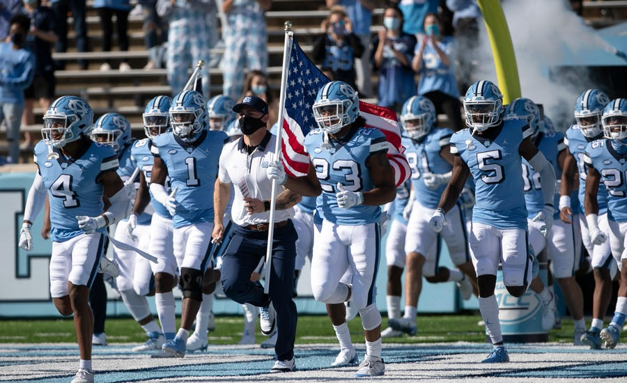 'We're trying to be great': UNC football begins preseason practices with purpose