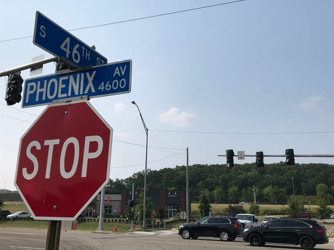 New traffic signals have been installed at the intersection of 46th Street and Phoenix Avenue in Fort Smith.