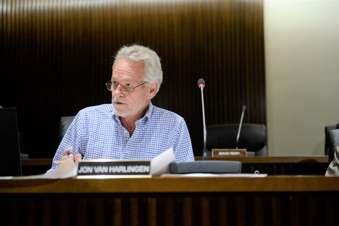 Councilman Jon Van Harlingen has expressed concern with moving forward on a project in light of accumulated debt.