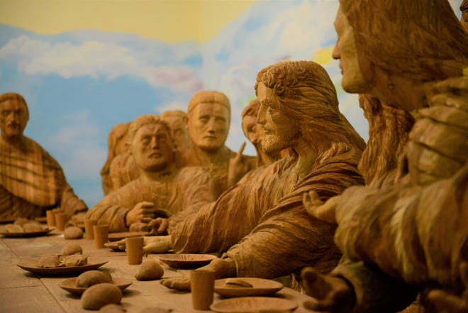 """BibleWalk is celebrating its 34 anniversary with the opening of Joseph Barta's """"Museum of Woodcarving."""""""